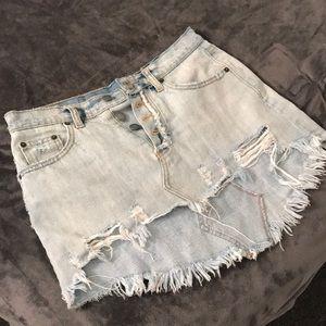 LF Denim Skirt
